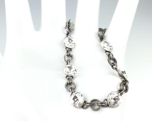 Konplott Rivoli crystal weißes Armband verschließbar 5450527558198