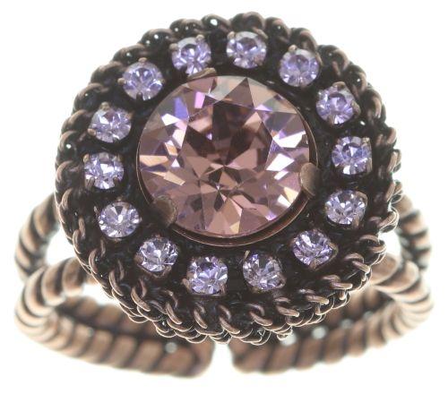 Konplott Rock 'n' Glam Ring in lila light amethyst 5450543776941