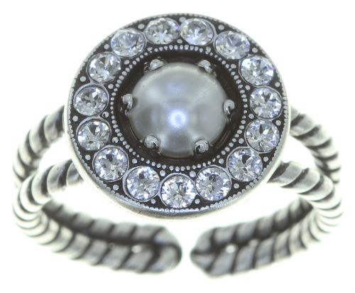 Konplott Simply Beautiful Ring in weiß 5450543780801