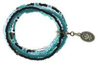 Konplott Petit Glamour d'Afrique Armband in grün/weiß antique 5450543862651