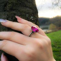 Vorschau: Konplott Rivoli fuchsia Ring pink 5450527612937