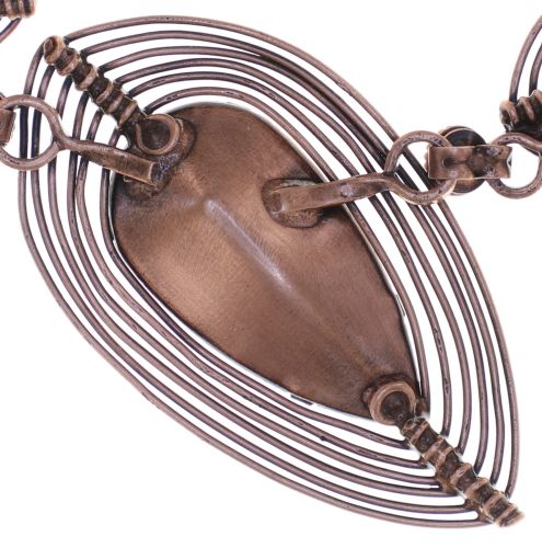 Konplott Amazonia Halskette in braun 5450543752525