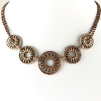 Konplott Rosone rosa Halskette steinbesetzt 5450543499604