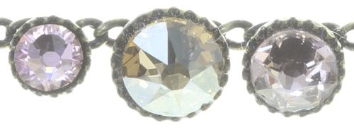 Konplott Water Cascade steinbesetzte Halskette in beige 5450543772868