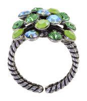 Vorschau: Konplott Magic Fireball Ring in grün Classic Size 5450543914534