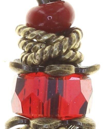 Konplott Tropical Candy Halskette mit Anhänger - Blut-Rot 5450543810140