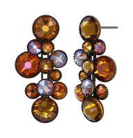 Konplott Water Cascade Ohrhänger in Amber 5450543938523