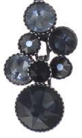 Vorschau: Konplott Water Cascade Halskette mit Anhänger in schwarz 5450543766553