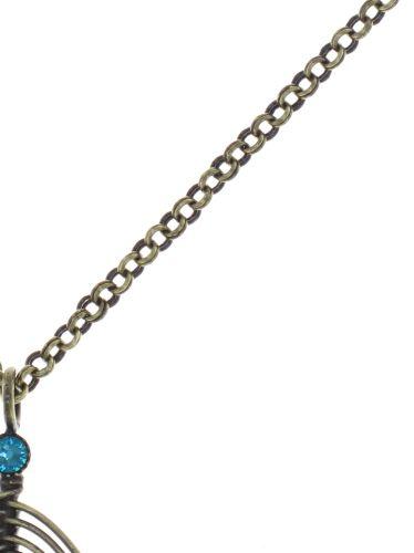 Konplott Amazonia lange Halskette mit Anhänger in blau/grün, Größe L 5450543753270