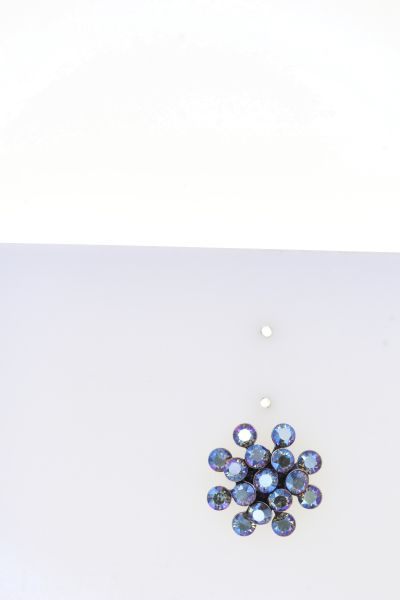 Konplott Magic Fireball Armband in blue black diamond shimmer mini 5450543914787