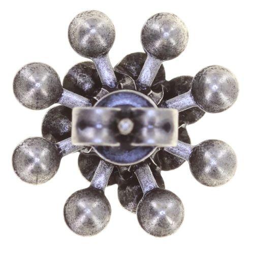 Konplott Magic Fireball Ohrstecker klassisch in apricot de glace crystal peach de lite 5450543797304