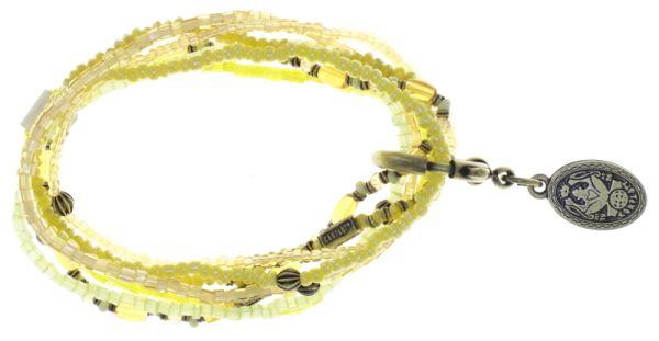 Konplott Petit Glamour d'Afrique Armband in gelb 5450543786247