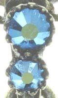 Vorschau: Konplott Snow White Halskette mit Anhänger in blau/grün Größe S 5450543757964