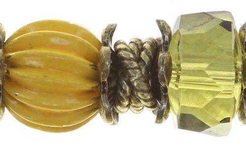 Konplott Tropical Candy Armband - Gelb 5450543810256