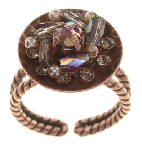 Konplott Soul of Thorns Ring Sunset Brown 5450543887203