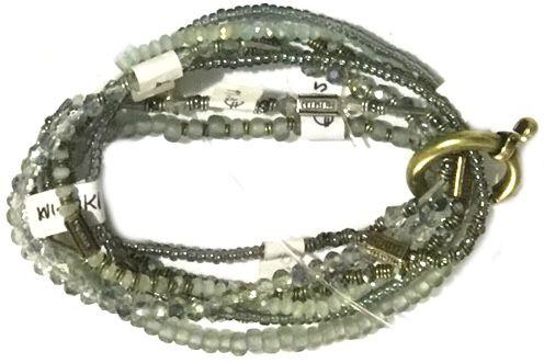 Konplott Petit Glamour d'Afrique Armband in grau 5450543786032