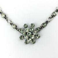 Vorschau: Konplott Magic Fireball Halskette steinbesetzt mit Anhänger in chrysolite, hellgrün 5450527612081