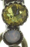 Vorschau: Konplott Psychodahlia Halskette mit Anhänger in gelb Messing 5450543730370