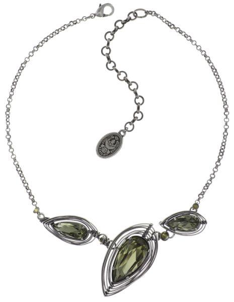 Konplott Amazonia Halskette in grün 5450543753041