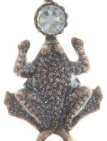 Vorschau: Konplott Little Frog Prince Halskette mit Anhänger in weiß 5450543708607