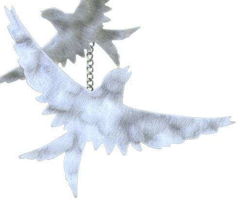 Konplott The Sparrow Ohrhänger Größe M,S in silber 5450543749747