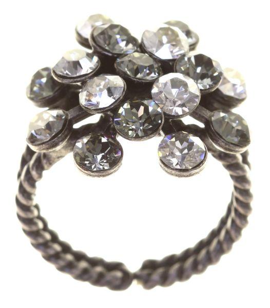 Konplott Magic Fireball crystal satin 16 Stein Ring 5450527778381