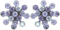 Vorschau: Konplott Magic Fireball Ohrstecker mini in lila 5450543754765