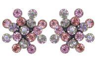Vorschau: Konplott Magic Fireball Ohrstecker in pink/lila Classic Size 5450543904832