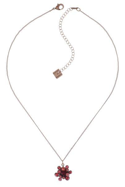 Konplott Alien Caviar Halskette mit Anhänger Forever Red 5450543891569