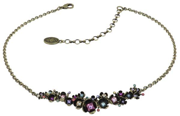 Konplott Halskette in multi - Where the Lilac Bloom 5450543883496