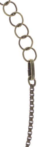 Konplott Studio 54 Halskette lang in grün Messing 5450543748139