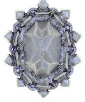 Vorschau: Konplott Kaleidoscope Illusion Halskette mit Anhänger in grau Größe S 5450543761688