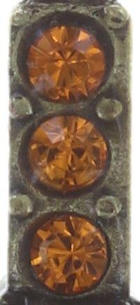 Konplott Inside Out Halskette mit Anhänger Größe S in orange 5450543638867