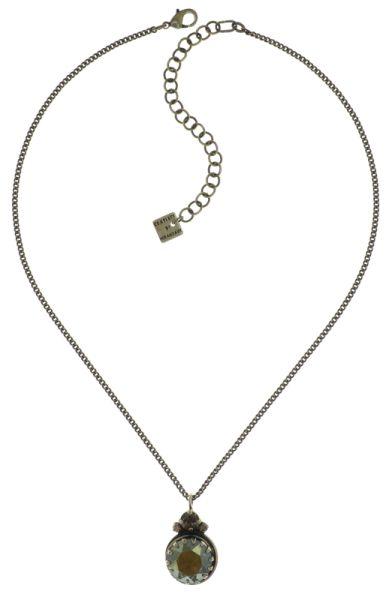 Konplott Boho Twist Halskette in crystal iridescent grün 5450543771977