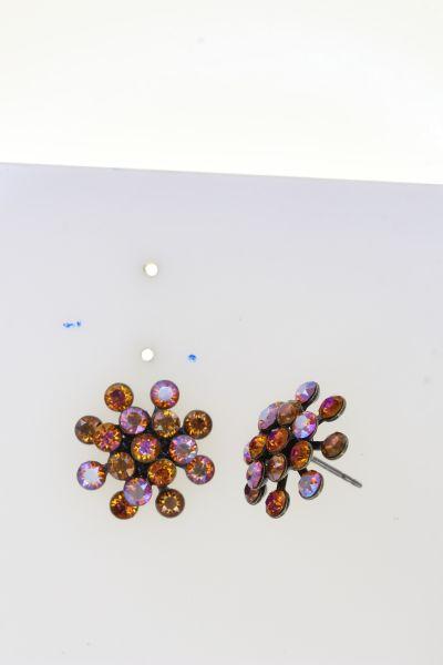 Konplott Magic Fireball Ohrstecker in orange mini 5450543915029