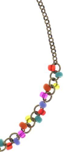 Konplott Massai Goes Fishing Halskette in multi rainbow 5450543812311