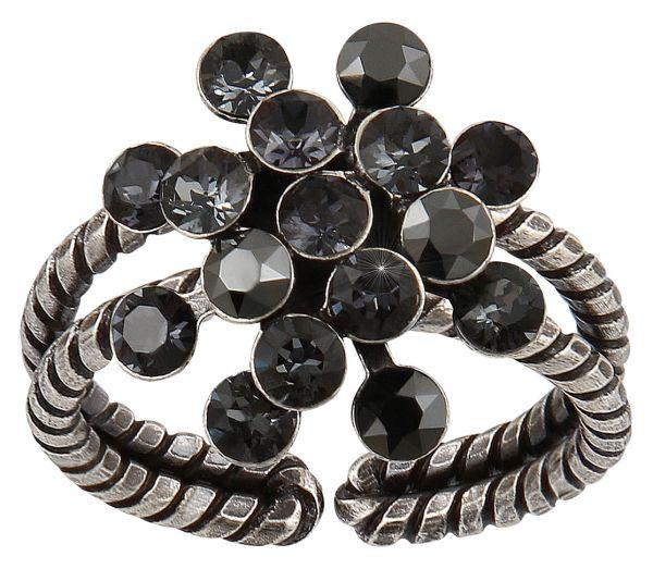 Konplott Magic Fireball Ring Mini in graphite schwarz 5450543797465