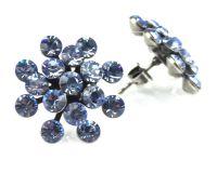 Vorschau: Konplott Magic Fireball Ohrstecker in light sapphire, hellblau 5450527612067