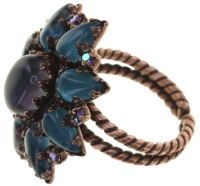 Vorschau: Konplott Mary Queen of Scots Ring Blue Flame 5450543897691