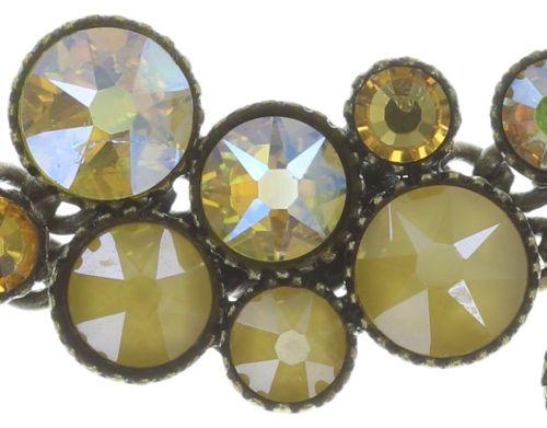 Konplott Inside Out steinbesetzte Halskette in gelb - Gebraucht wie neu 5450543727127