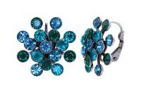 Konplott Magic Fireball Ohrhänger Emerald Blue in Classic Size 5450543936291