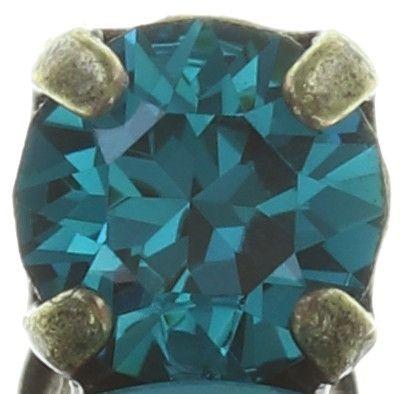 Konplott Ballroom Classic Glam Ohrstecker in blau/grün 5450543726694