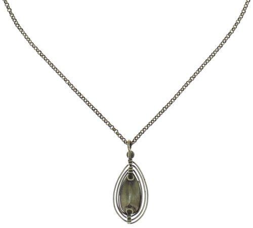 Konplott Amazonia Halskette mit Anhänger in beige, Größe S 5450543760650
