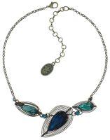 Vorschau: Konplott Amazonia Halskette in blau/grün 5450543750866