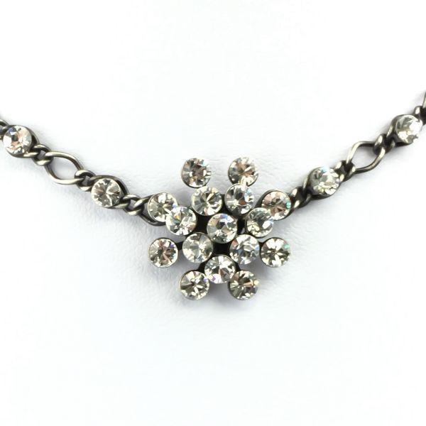 Magic Fireball Halskette steinbesetzt mit Anhänger in crystal