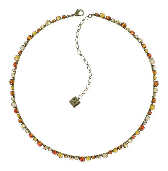 Konplott Water Cascade Halskette in Buttercup On Fire yellow 5450543908434