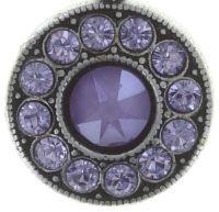 Vorschau: Konplott Spell on You Halskette mit Anhänger in lila Silberfarben 5450543735344