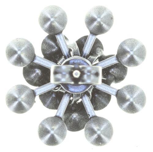 Konplott Magic Fireball Ohrstecker klassisch in schwarz - Gebraucht wie Neu 5450543765808-g
