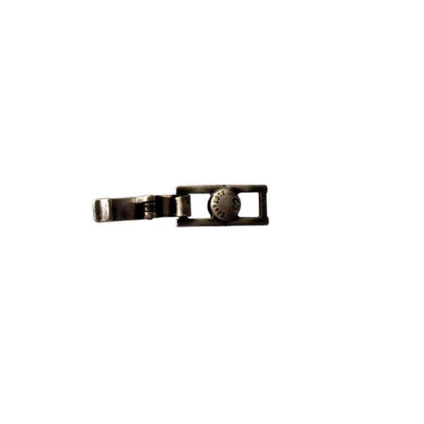 Konplott Armband Verlängerung klein in dunklem silber/schwarz 5450527800501