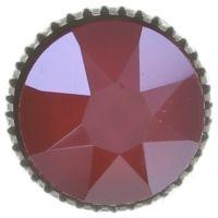 Vorschau: Konplott Black Jack Ohrstecker klassisch groß in rot crystal royal red 5450543723914